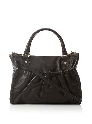RED Valentino Women's Convertible Whipstitched Handbag, Black