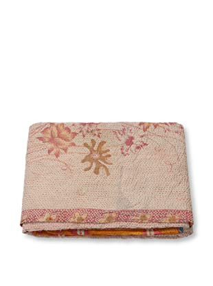 Mili Designs NYC One of a Kind Vintage Kantha Throw, #284