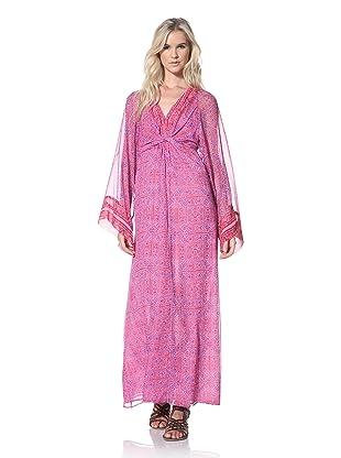 Winter Kate Women's Kamakura Maxi Dress (Multi Fuchsia)
