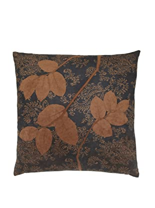 Aviva Stanoff Lemon Leaf on Brown Paisley