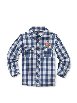 KANZ Boy's Long Sleeve Shirt (Check)