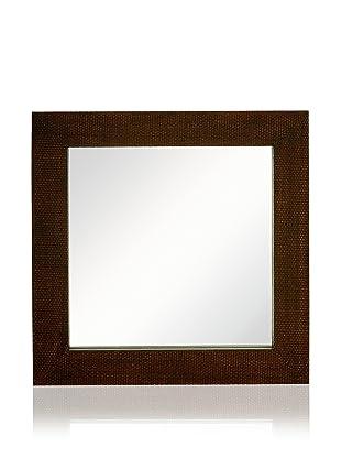Square Woven Mirror (Bronze)