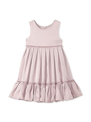 TroiZenfants Girl's Sleeveless Pleated Dress (Mauve)