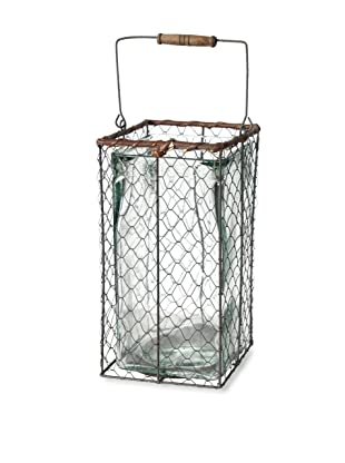 A&B Home Wire Lantern with Handle