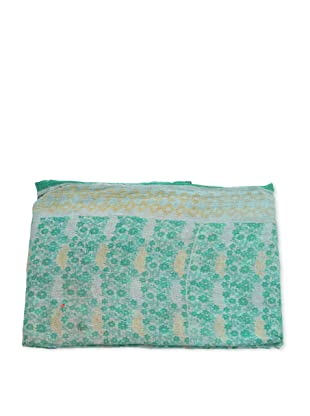 Mili Designs NYC One of a Kind Vintage Kantha Throw, #142