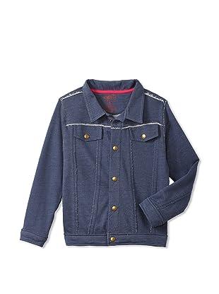 Soft Clothing Kid's Kibwe Jacket (Denim)