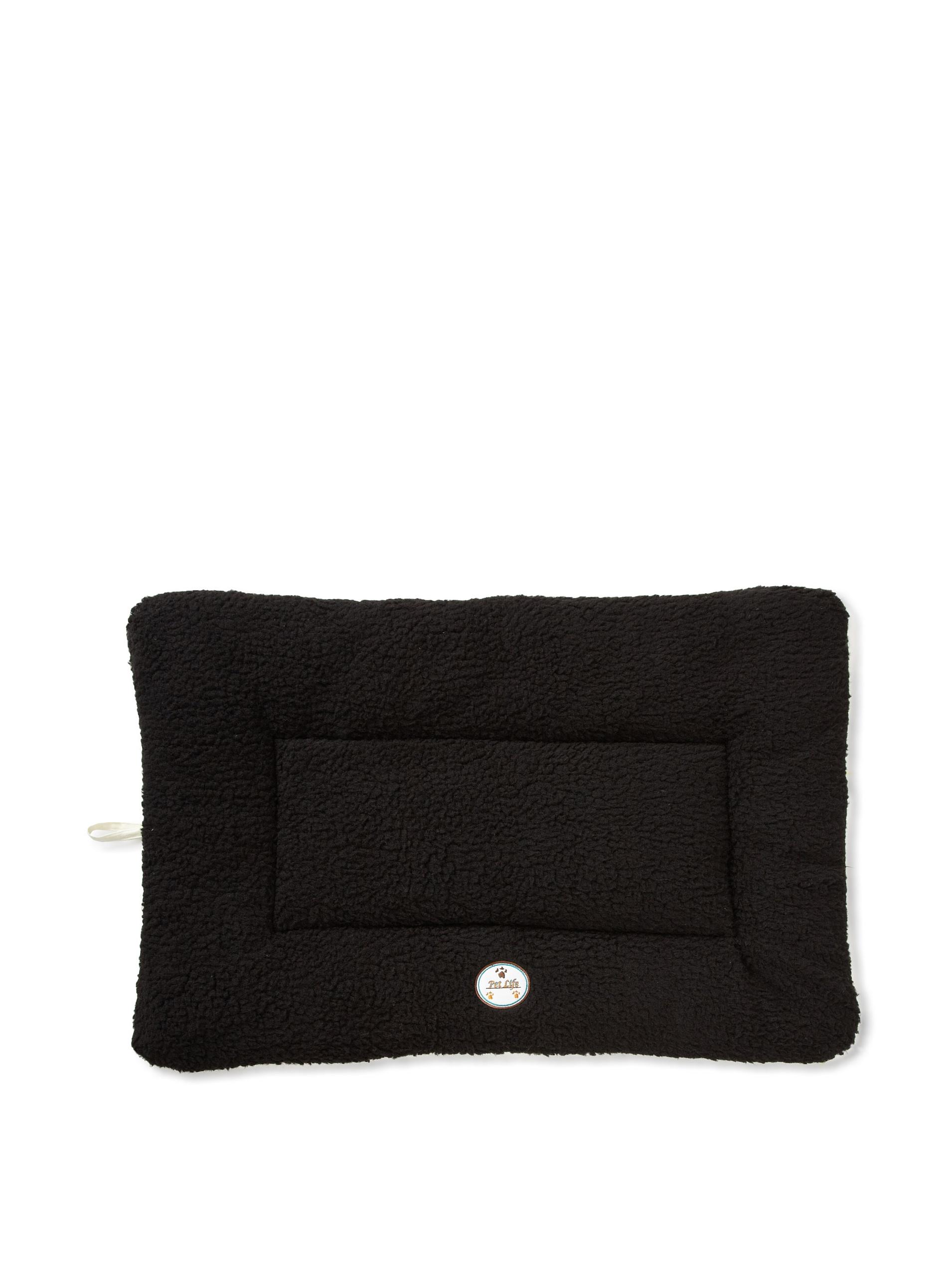 Pet Life Eco-Paw Reversible Pet Bed (Black/White)