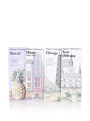 MapEasy's Guidemap to U.S. Getaways: Chicago, New Orleans, Hawaii, Miami