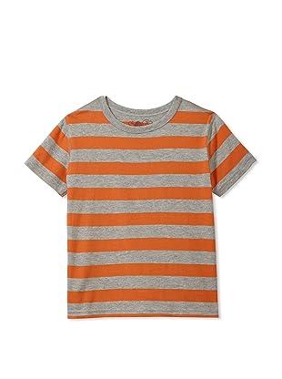 Soft Clothing for Children Boy's Le Havre Short Sleeve Tee (Orange)