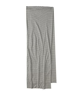 French Connection Men's Anchor Bend Large Scarf (Black)