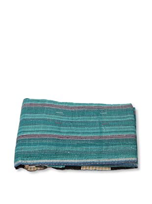 Mili Designs NYC One of a Kind Vintage Kantha Throw, #261