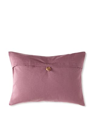 Belle Epoque Rythmic Decorative Pillow, Violet, 12