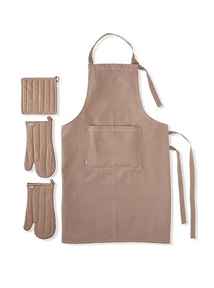 Winkler Apron Trend Kitchen Set (Taupe Brown)