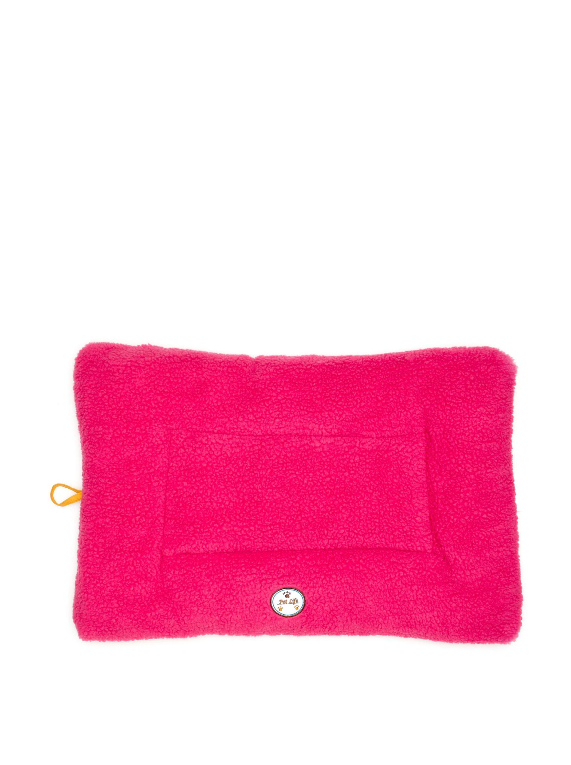 Pet Life Eco-Paw Reversible Pet Bed (Pink/Orange)