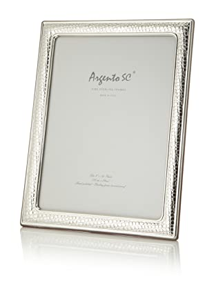 Argento SC Thin Croc Sterling Silver Frame, 8