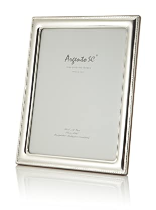 Argento SC Thin Border Sterling Silver Frame, 8