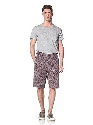 Marshall Artist Men's Tailored Short (Navy Floral)