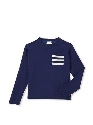 Kicokids Boy's Polka-Dot Back Sweater (Olivier)