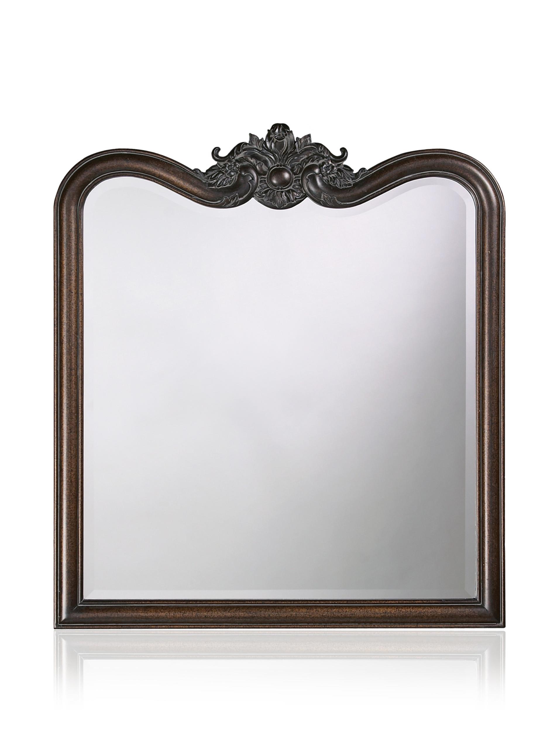 Liza Mirror, Antique Bronze