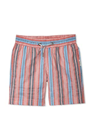 Onia Boy's Charlie Trunks (Red/Blue Stripe)
