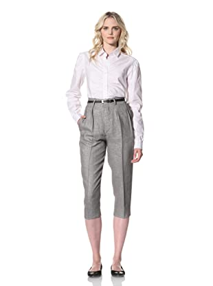 Billy Reid Women's Cropped Trouser (Black/White)