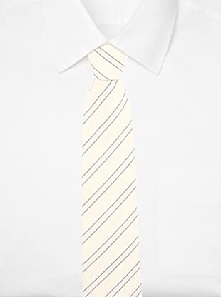 E.Tautz Men's Stallard Tie (Cream)