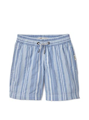 Onia Boy's Charlie Trunks (Blue Stripe)