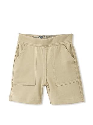 Soft Clothing Kid's Darby Cargo Shorts (Safari)