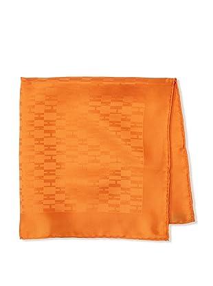 Hermès Men's Logo Handkerchief (Orange)