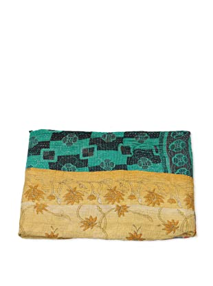 Mili Designs NYC One of a Kind Vintage Kantha Throw, #213