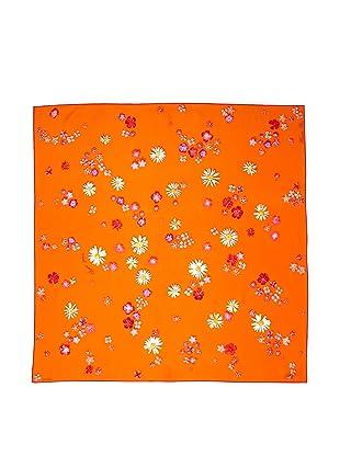 Hermès Women's Carre Scarf, Orange/Magenta