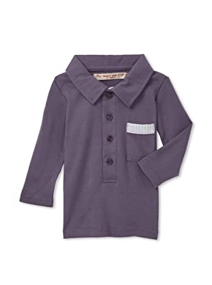 Je suis en CP! Boy's Polo (Purple)