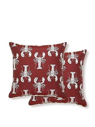 Dakota Set of 2 Nantucket Pillows (Admiral)