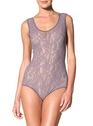 Between The Sheets Women's Birds of Play Bodysuit (Grey)