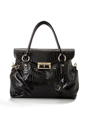 Ivanka Trump Women's Alexandrite Flap Briefcase (Black)
