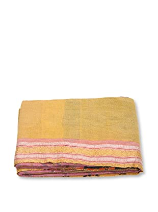Mili Designs NYC One of a Kind Vintage Kantha Throw, #170
