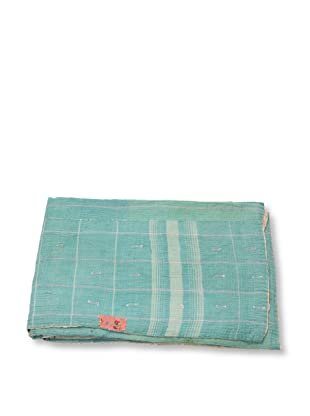 Mili Designs NYC One of a Kind Vintage Kantha Throw, #208