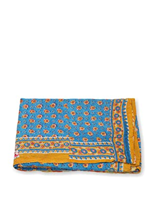 Mili Designs NYC One of a Kind Vintage Kantha Throw, #229