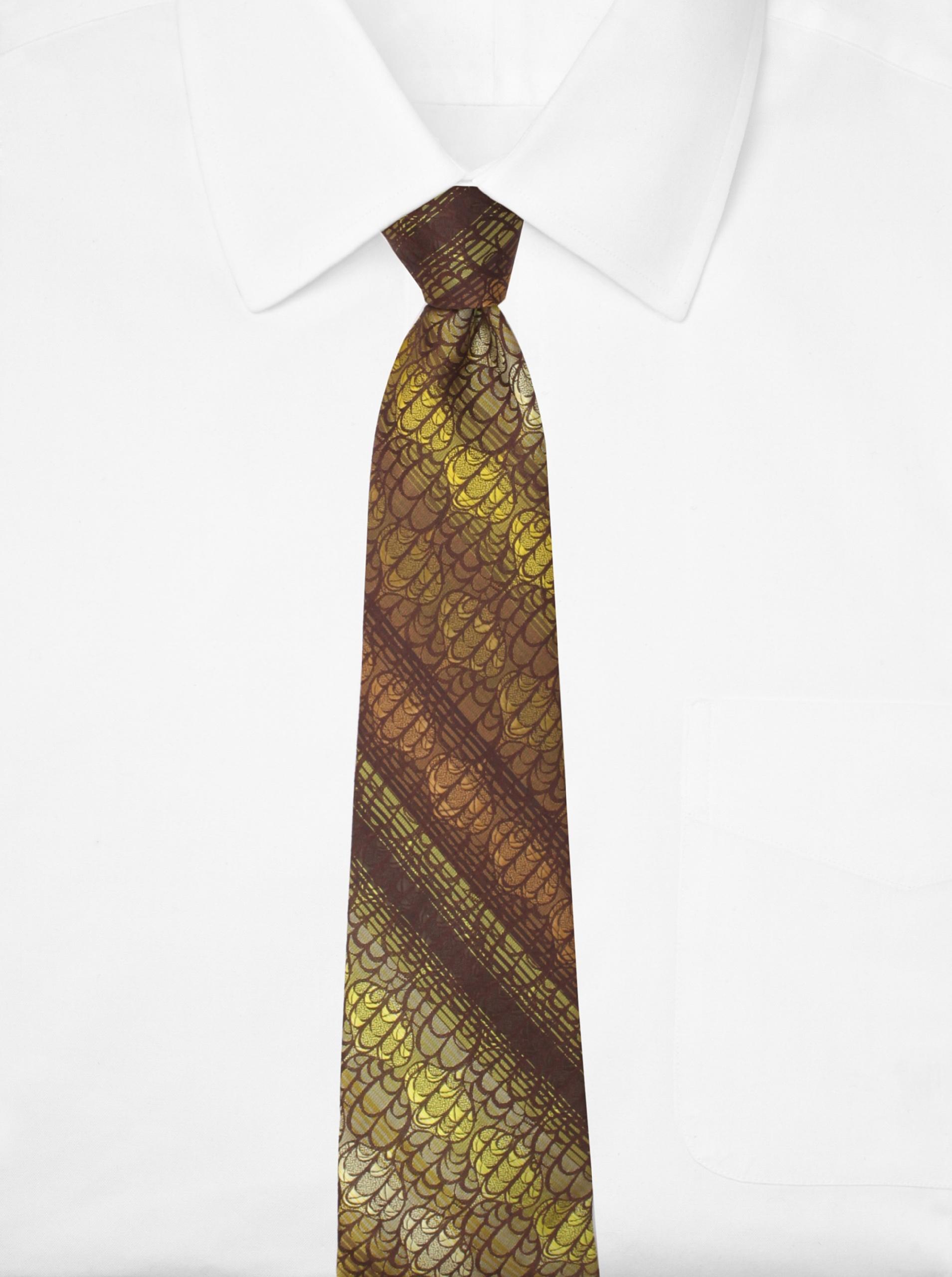 Goorin Brothers Men's Terren Tie (Brown)