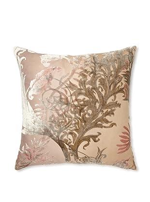 Kevin O'Brien Studio Vines Velvet Pillow, Iris, 16