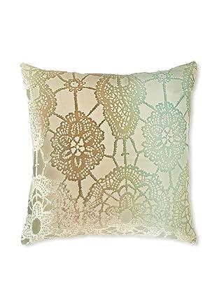 Kevin O'Brien Studio Lace Velvet Pillow, Antique, 18