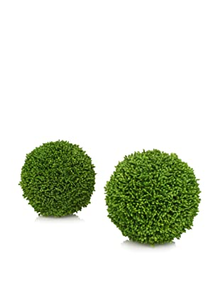 A&B Home Set of 2 Topiary Balls