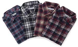 (ラルフエヴァンス)LALPH EVANS ネルチェックシャツ BGS-02