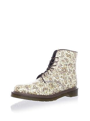 Dr. Martens Women's Jeffery Paisley Boot (Beige/Brown)