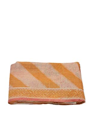 Mili Designs NYC One of a Kind Vintage Kantha Throw, #201
