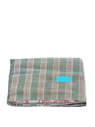 Mili Designs NYC One of a Kind Vintage Kantha Throw, #126