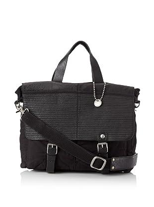 John Varvatos Star USA Men's Messenger Tote Bag (Black)