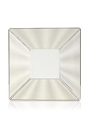 Nikko Ceramics Silk Square Plate (Platinum)