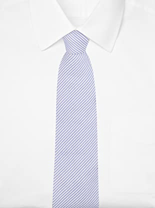 E.Tautz Men's Lindsay Tie (Navy/White)