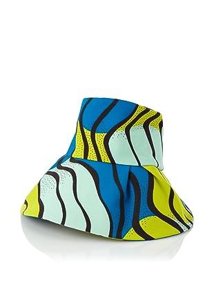 MARNI Women's Canvas Sun Hat (Limoges/Mineral)